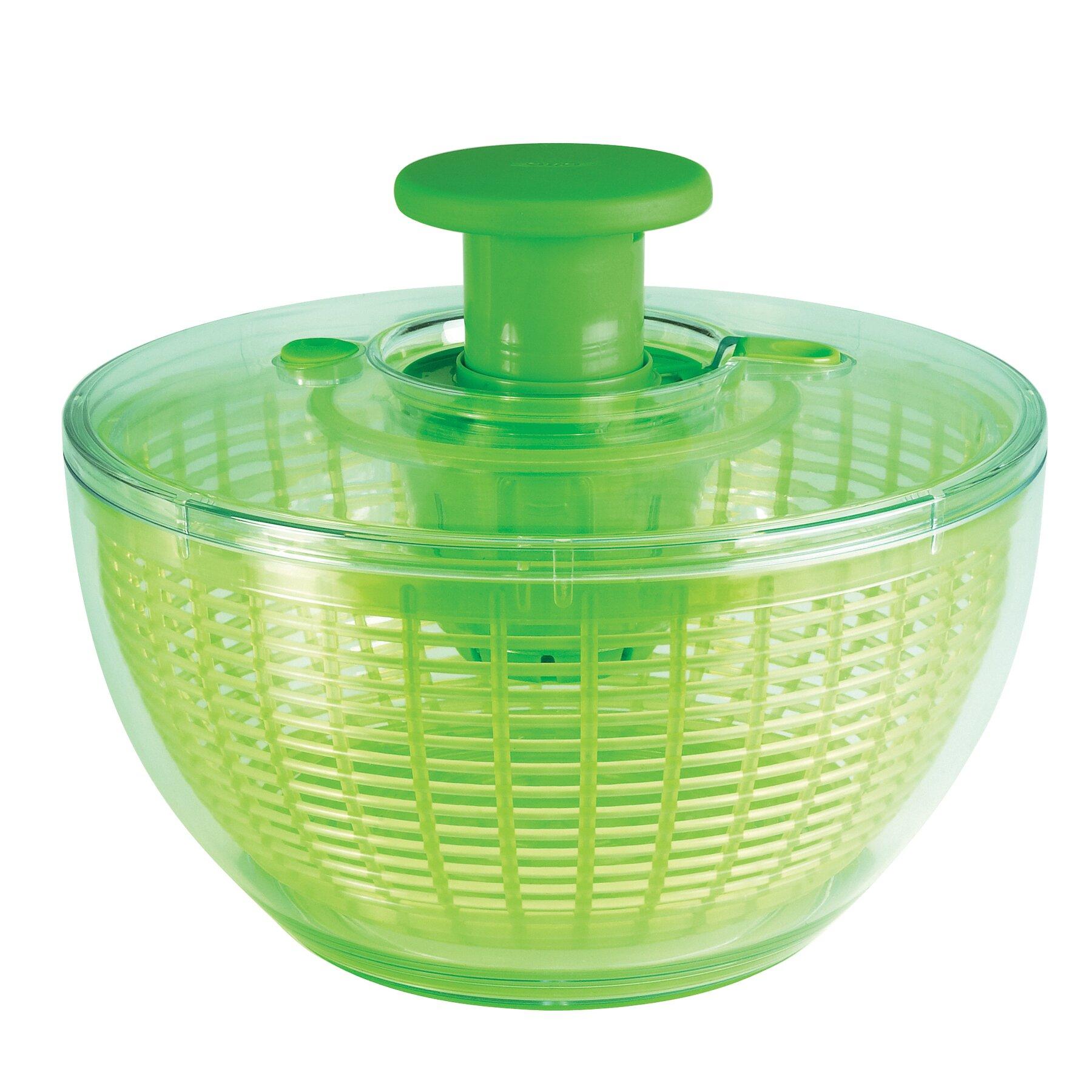oxo good grips salad spinner reviews wayfair. Black Bedroom Furniture Sets. Home Design Ideas