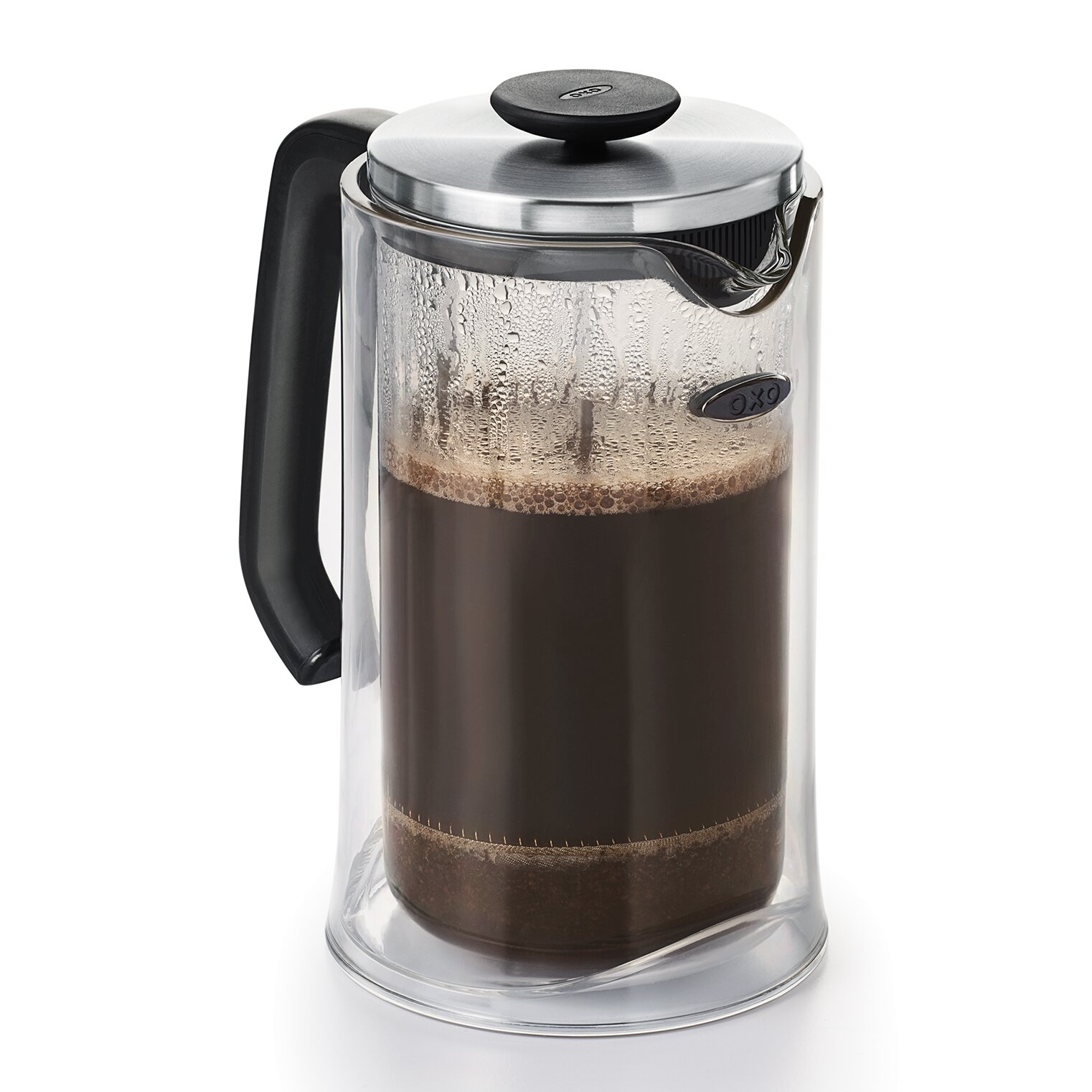 oxo 8 cup good grips french press coffee maker wayfair. Black Bedroom Furniture Sets. Home Design Ideas