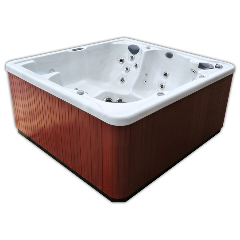 Home And Garden Spas 6 Person 81 Jet Spa With Waterfall