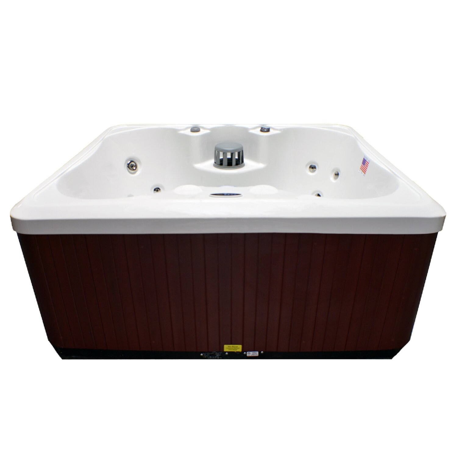 Home And Garden Spas 4 Person 14 Jet Plug And Play Spa