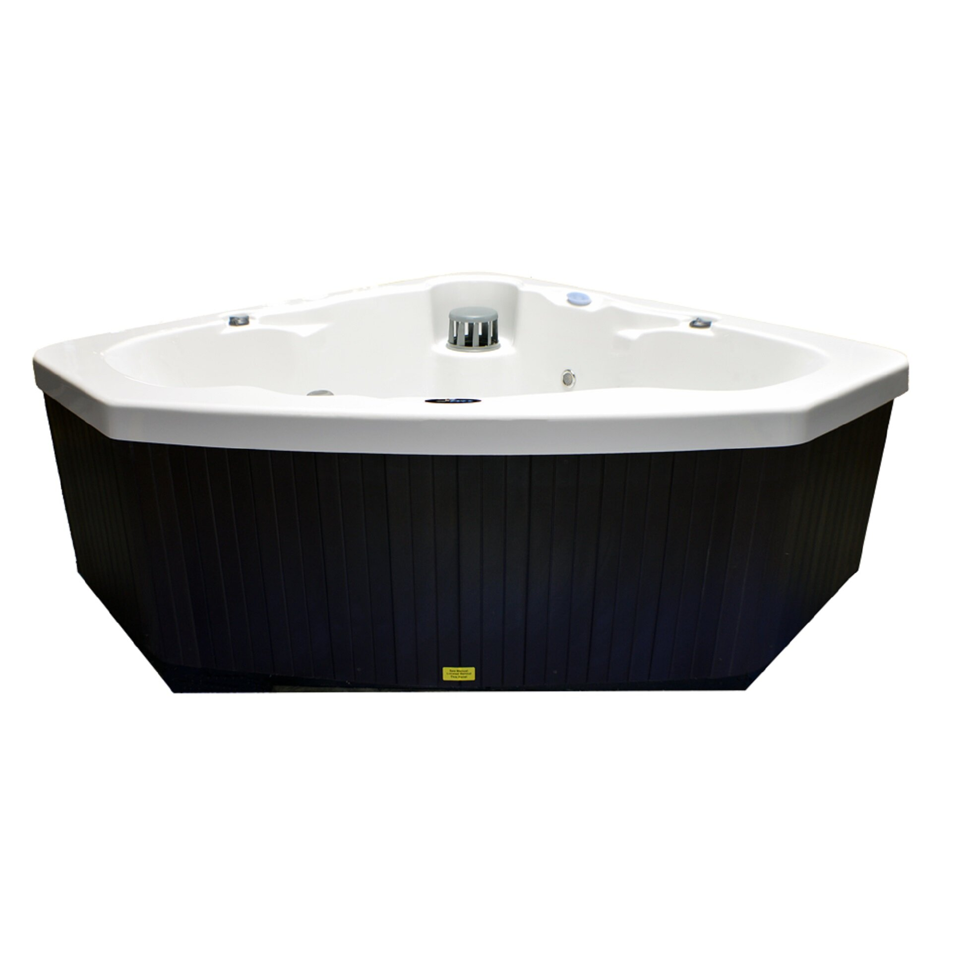 Home And Garden Spas 3 Person 14 Jet Corner Spa Whirlpool