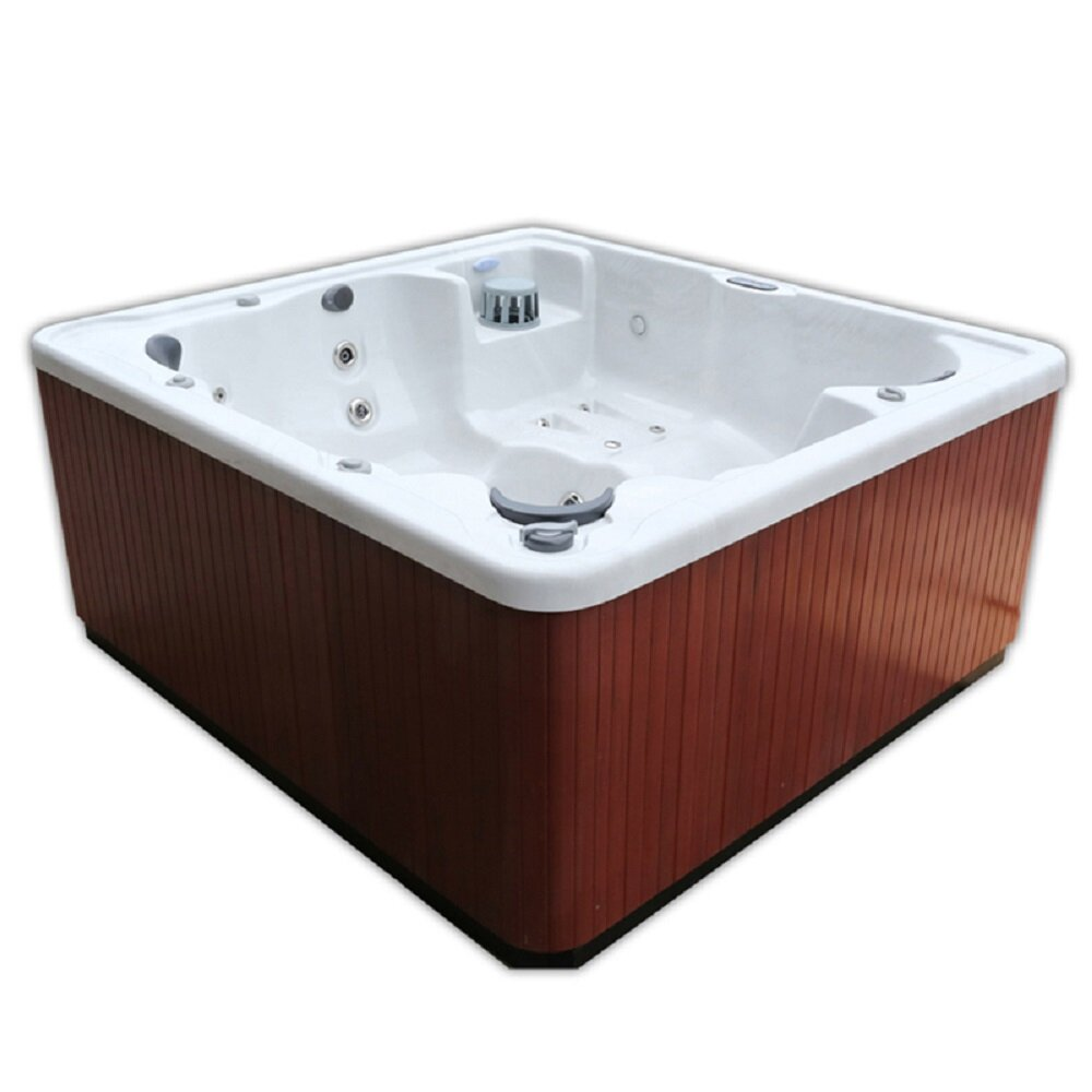 home and garden spas 6 person 40 jet spa with mp3 auxiliary hookup and led light reviews wayfair