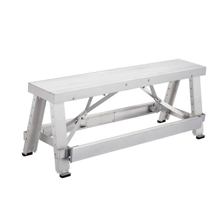 Pentagon Atta Boy Professional Height Adjustable Drywall Aluminum Top Workbench Reviews Wayfair