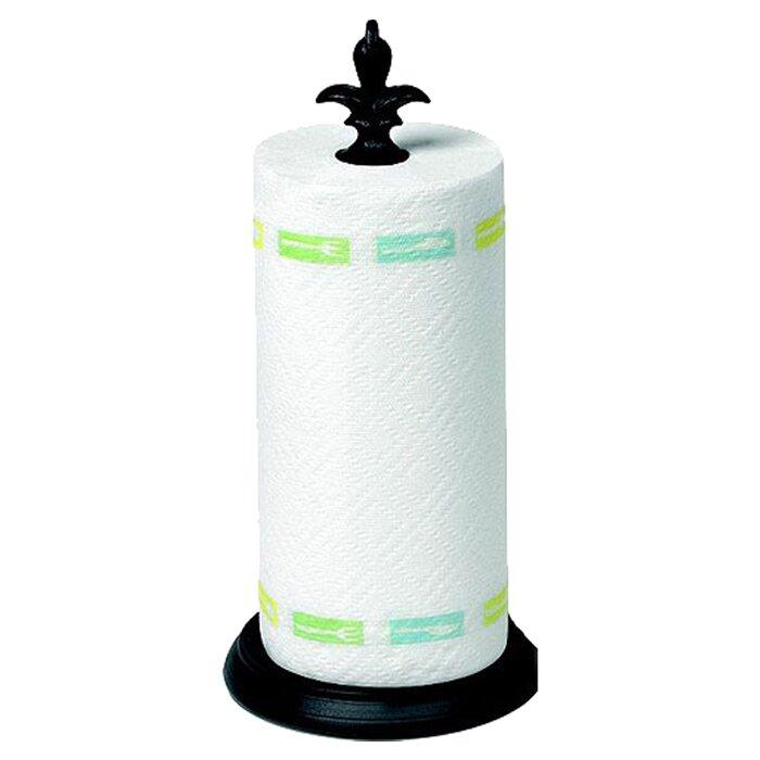 Spectrum diversified fleur de lis paper towel holder reviews wayfair - Fleur de lis towel rack ...
