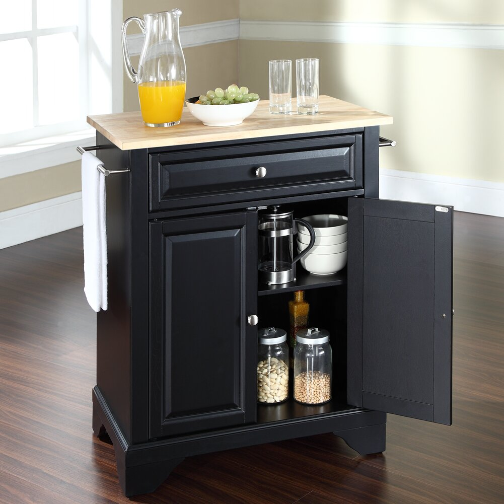 Crosley Lafayette Kitchen Cart Reviews Wayfair