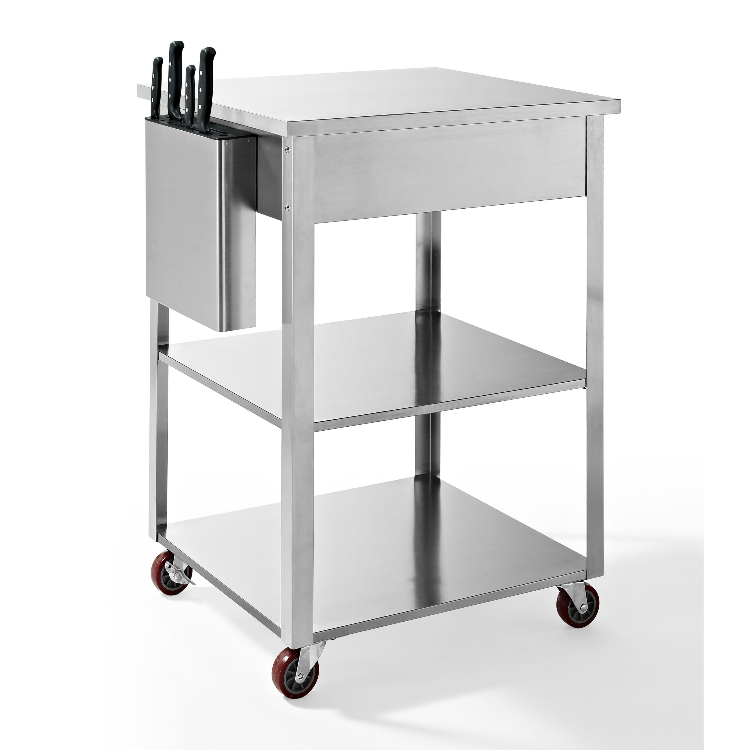 Crosley Kendall Kitchen Cart & Reviews