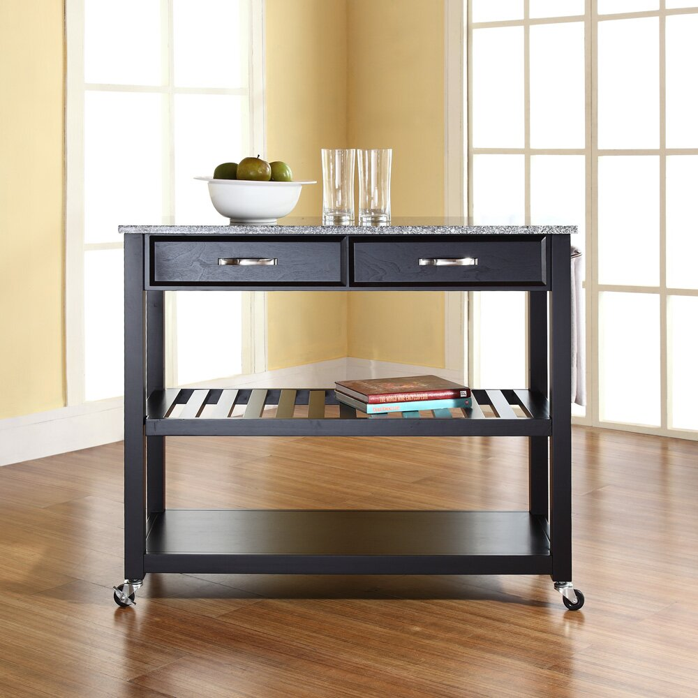 Crosley Kitchen Island With Granite Top & Reviews