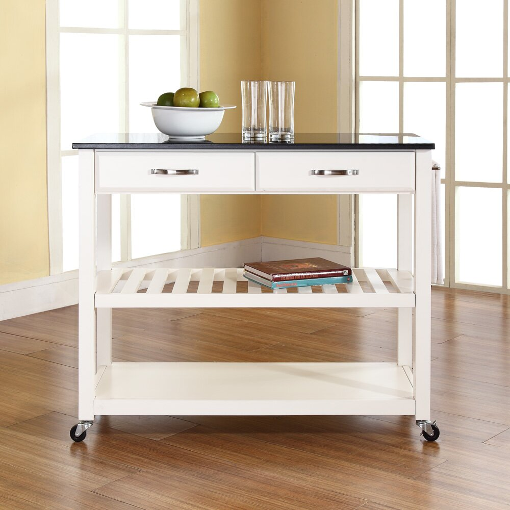 Crosley Kitchen Island With Granite Top Reviews Wayfair