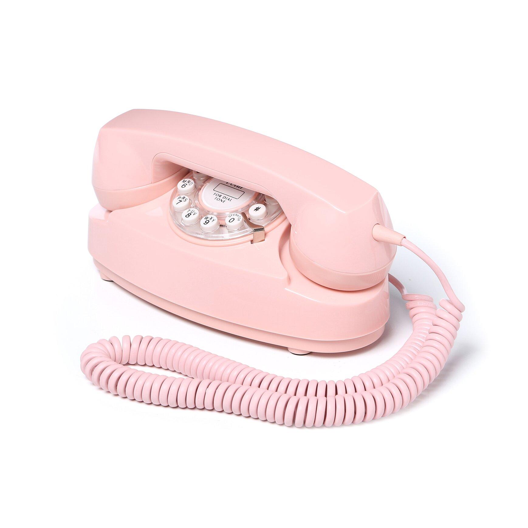 Crosley Princess Phone Amp Reviews Wayfair