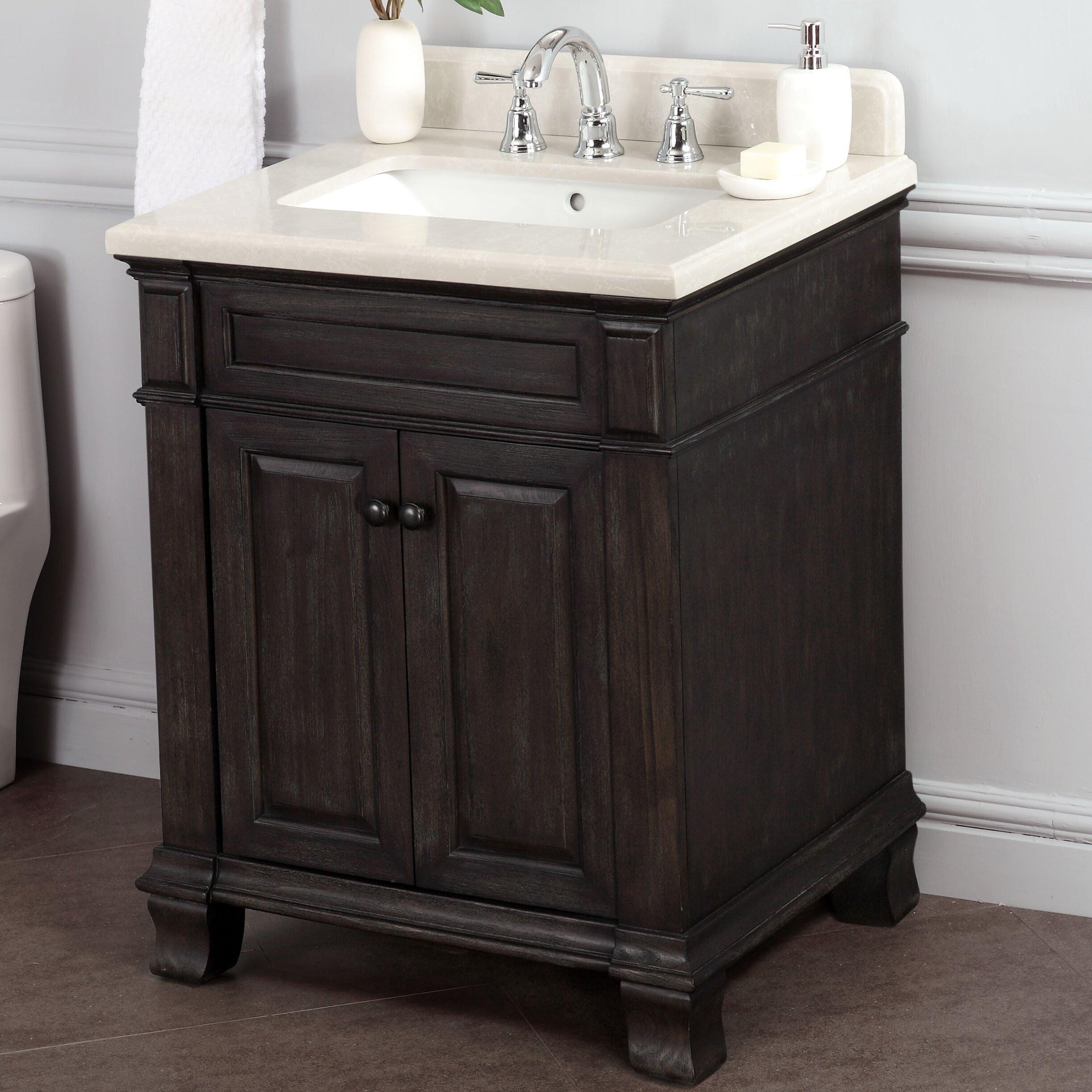 """Lanza Kingsley 28"""" Single Bathroom Vanity Set & Reviews"""