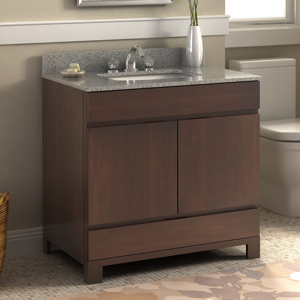 """Lanza Oxford 36"""" Single Bathroom Vanity Set & Reviews"""