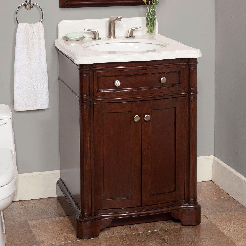 lanza chester 26 quot single bathroom vanity set reviews
