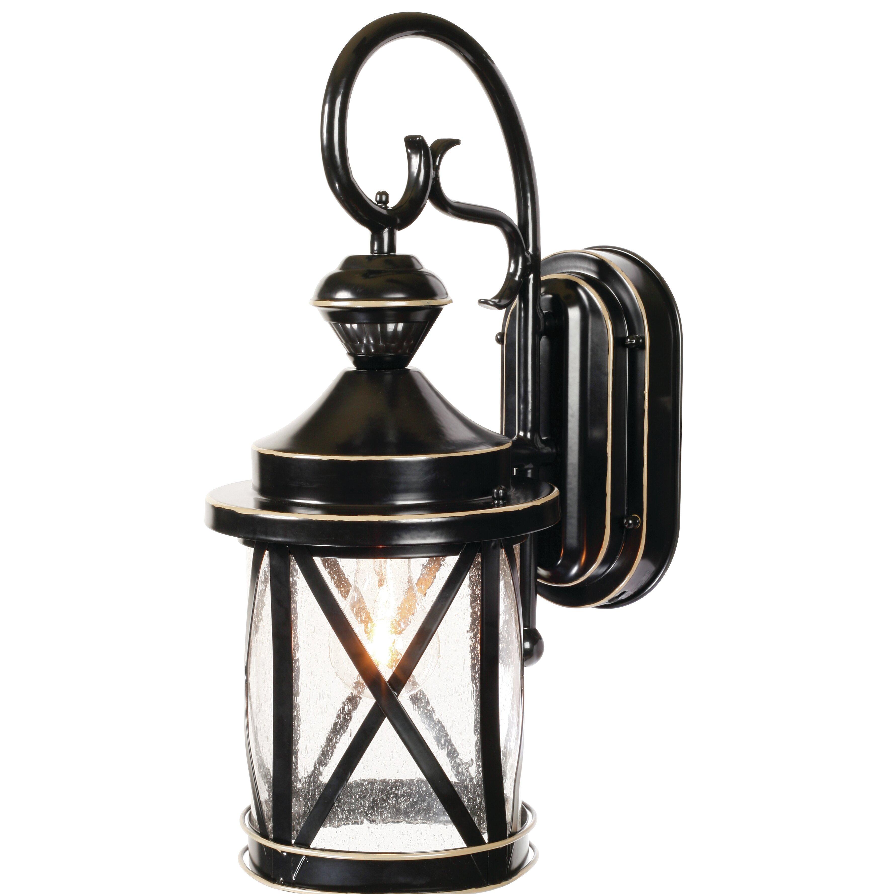 Outside Wall Lights Lantern : Heath-Zenith 1 Light Outdoor Wall Lantern & Reviews Wayfair