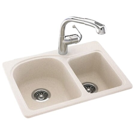 swanstone kitchen sink reviews swanstone swanstone classics 25 quot x 18 quot space saver 5957