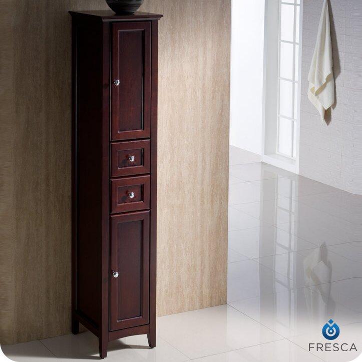 fresca oxford 14 x 68 bathroom linen cabinet reviews. Black Bedroom Furniture Sets. Home Design Ideas