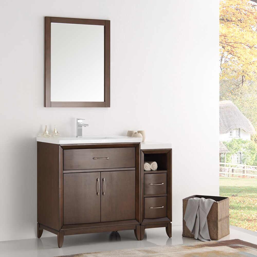 espresso traditional bathroom oxford me fresca decorations home catalog vanity instructions alhenaing installation