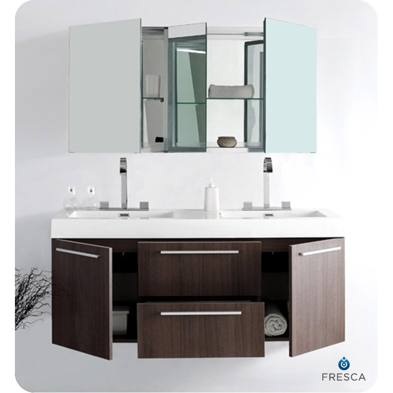 modern bathroom vanity set with mirrored medicine cabinet reviews
