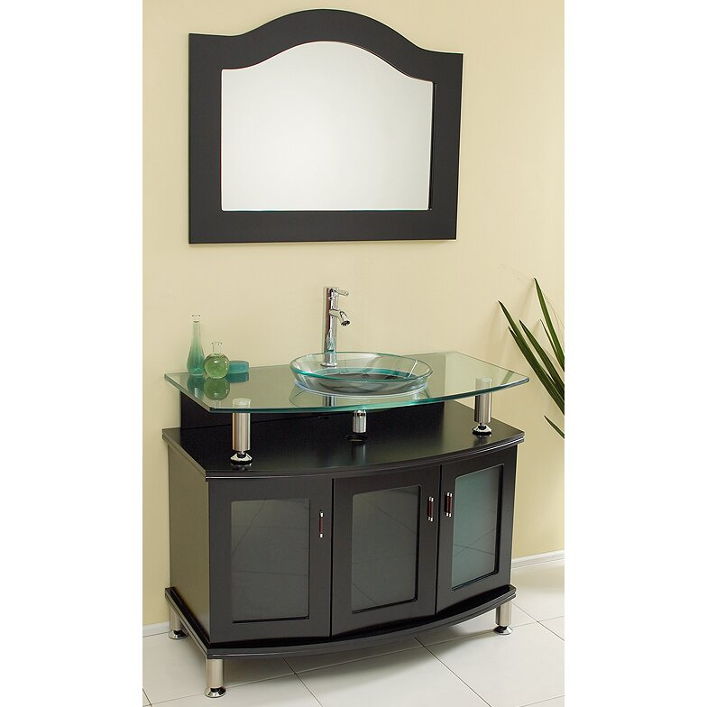 Awesome  Traditional Vanity Fortore Chrome Faucet Contemporarybathroom