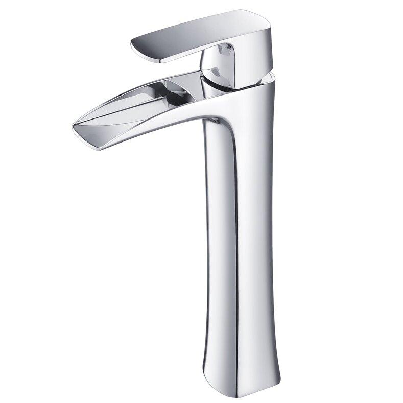 Fresca Fortore Single Handle Deck Mount Vessel Faucet Reviews Wayfair