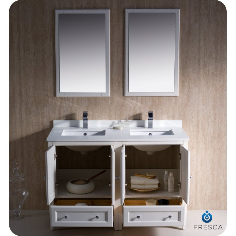 Double Sink Bathroom Vanity 72 Inch
