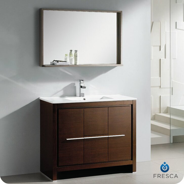Fresca Allier 40 Single Modern Bathroom Vanity Set With