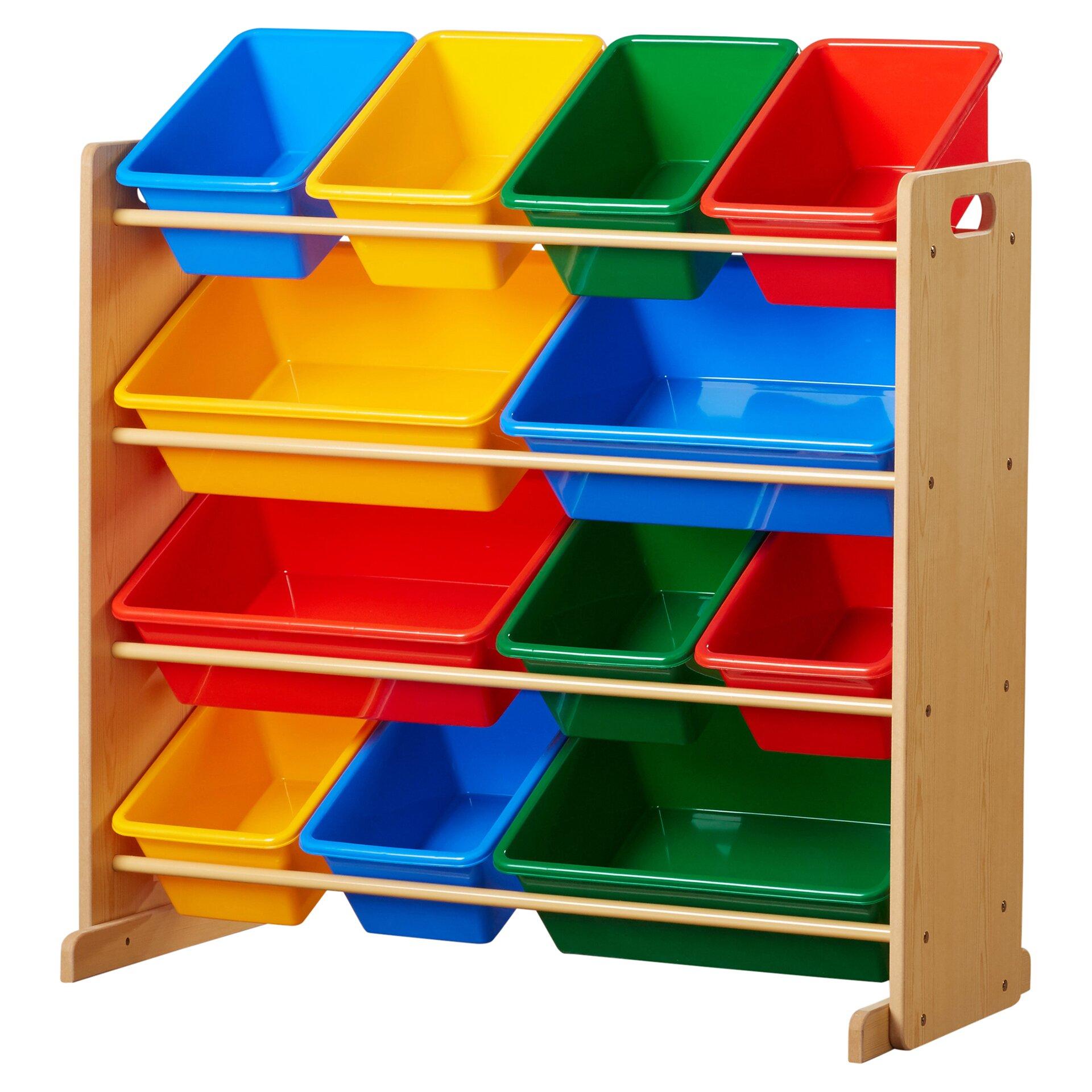 tot tutors toy organizer reviews wayfair. Black Bedroom Furniture Sets. Home Design Ideas