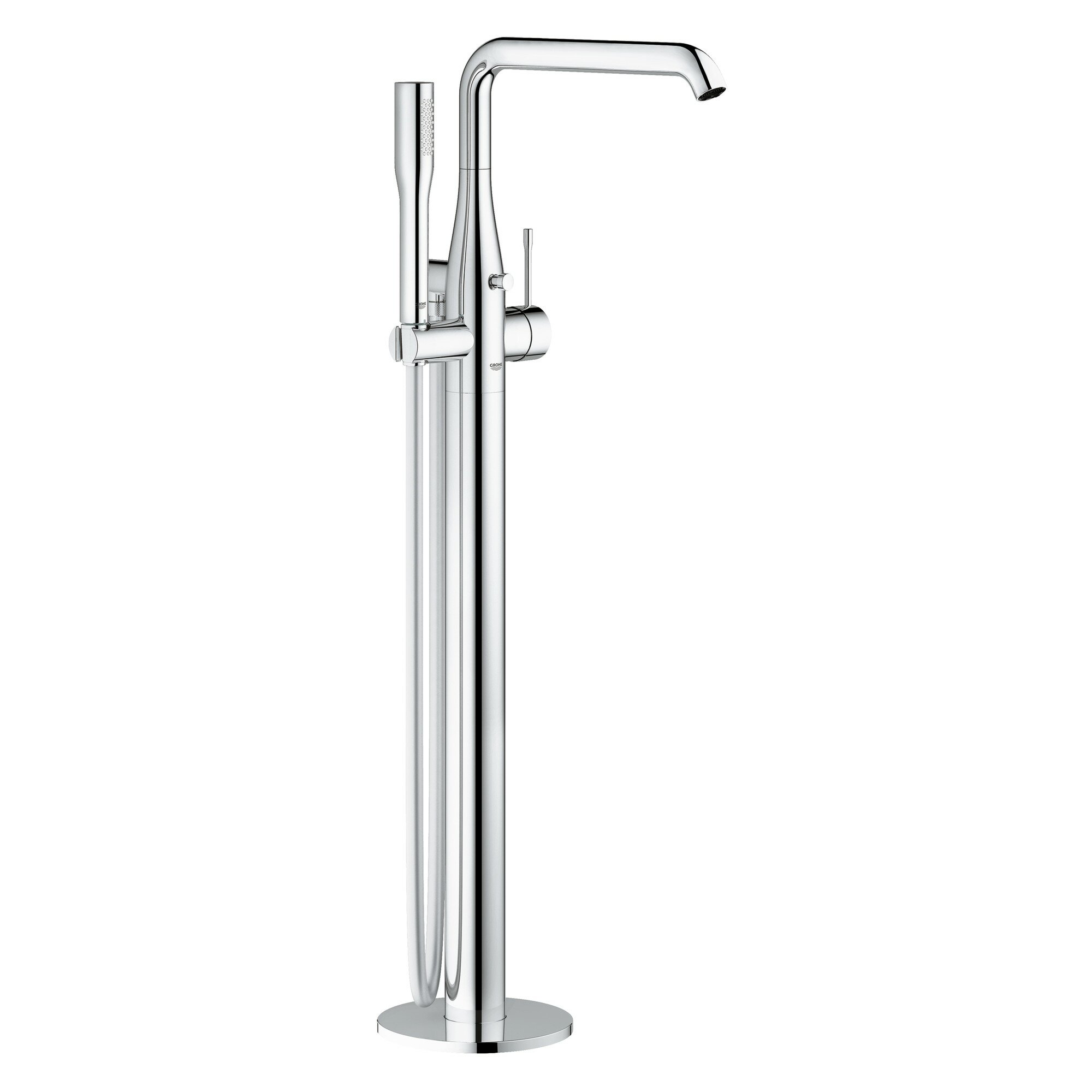 Grohe Essence Single Handle Floor Mounted Tub Filler Trim