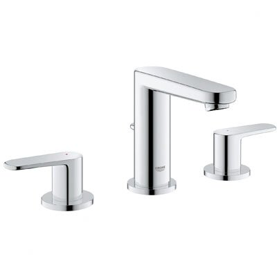 Grohe Europlus Double Handle Widespread Bathroom Faucet Reviews Wayfair