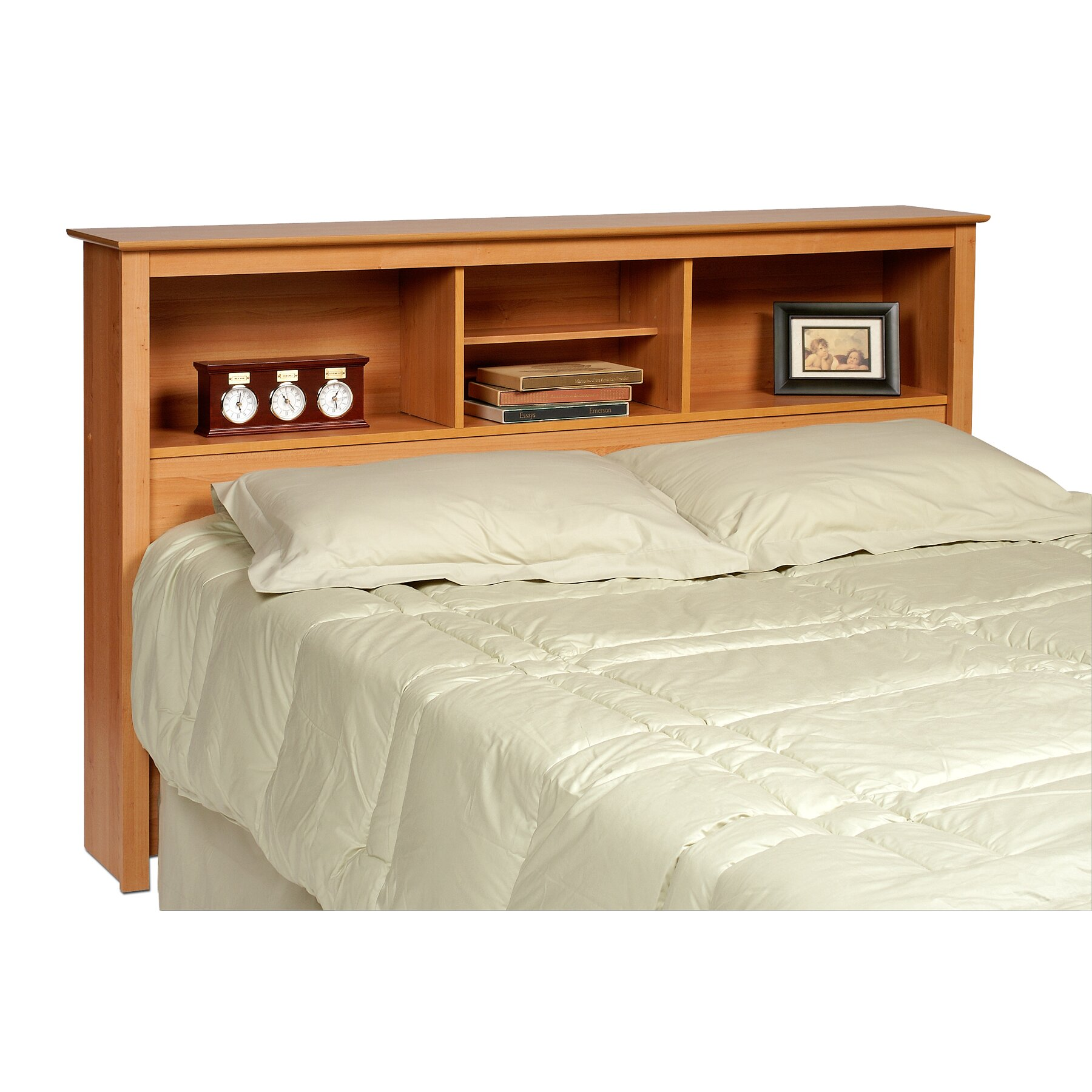 latitude run wanda bookcase headboard reviews wayfair. Black Bedroom Furniture Sets. Home Design Ideas