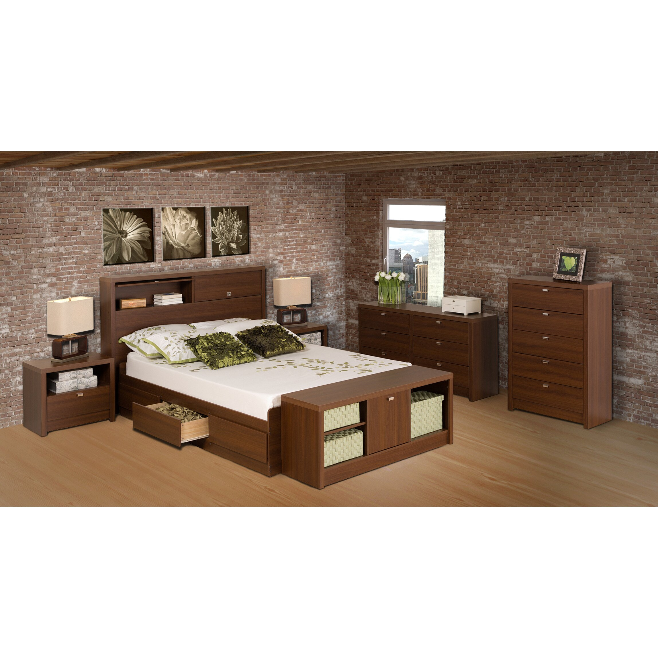 prepac bedroom cubbie storage bench reviews wayfair. Black Bedroom Furniture Sets. Home Design Ideas