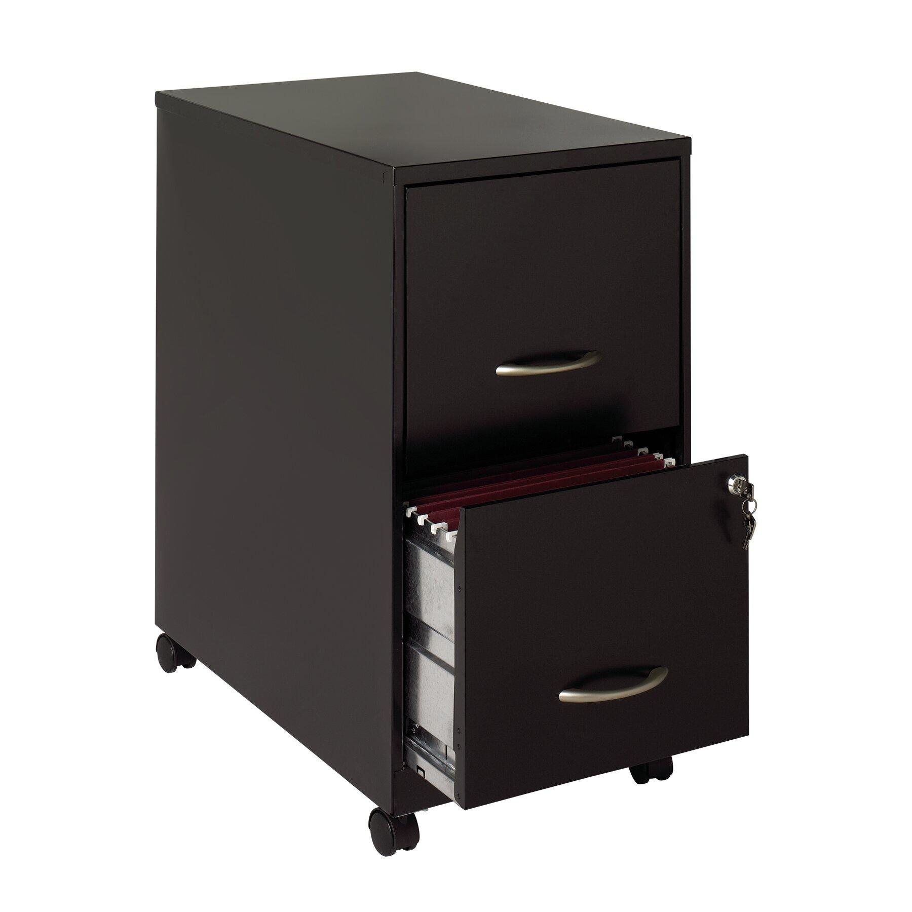Hirsh industries 2 drawer soho mobile pedestal file for Industrie mobel