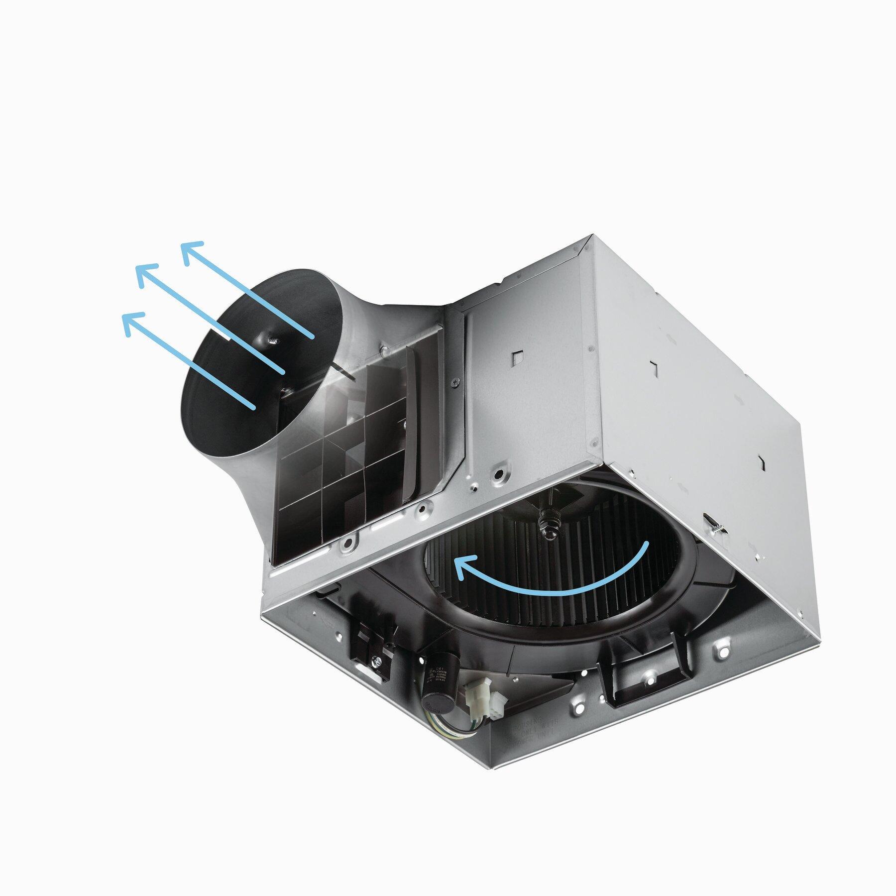 Broan Ultra Pro 110 Cfm Energy Star Bathroom Fan With Night Light Reviews Wayfair