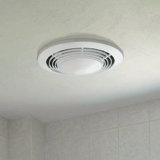 broan 110 cfm bathroom fan with heater and light reviews wayfair