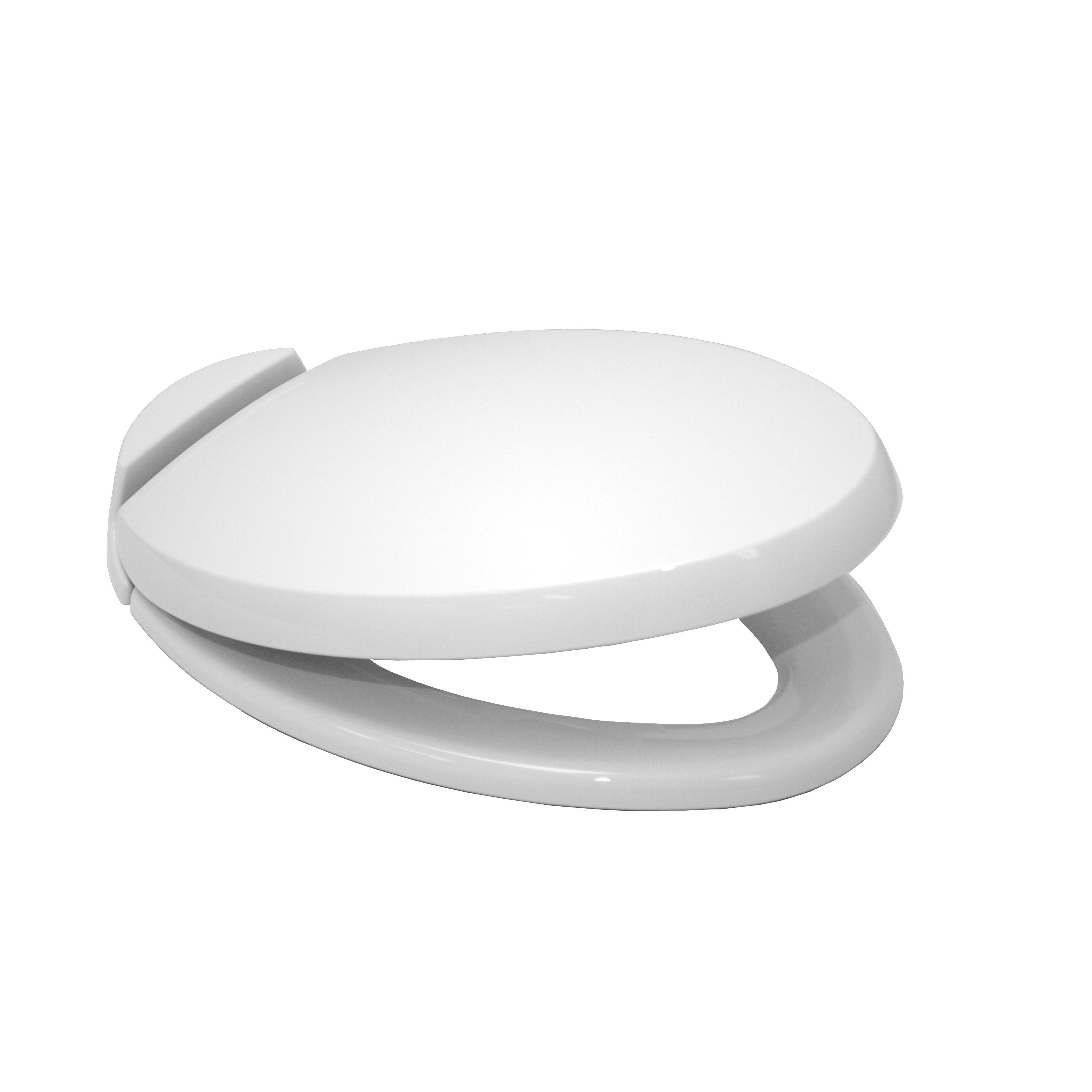 Toto SoftClose Elongated Beveled Lid Toilet Seat Reviews Wayfair