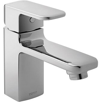 toto upton single handle single hole bathroom faucet reviews wayfair. Black Bedroom Furniture Sets. Home Design Ideas