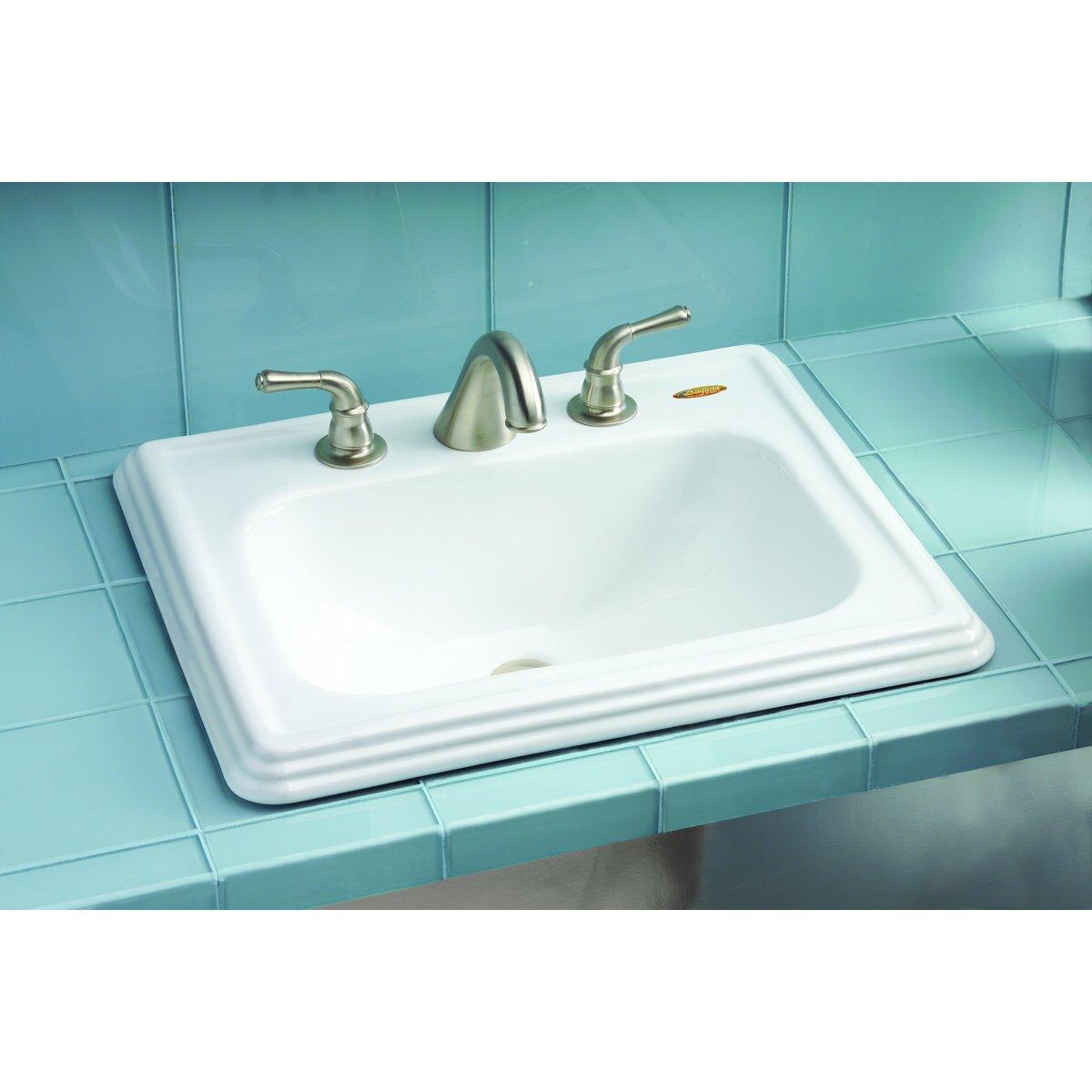 Ada Kitchen Sink: Toto Promenade Self Rimming Bathroom Sink & Reviews