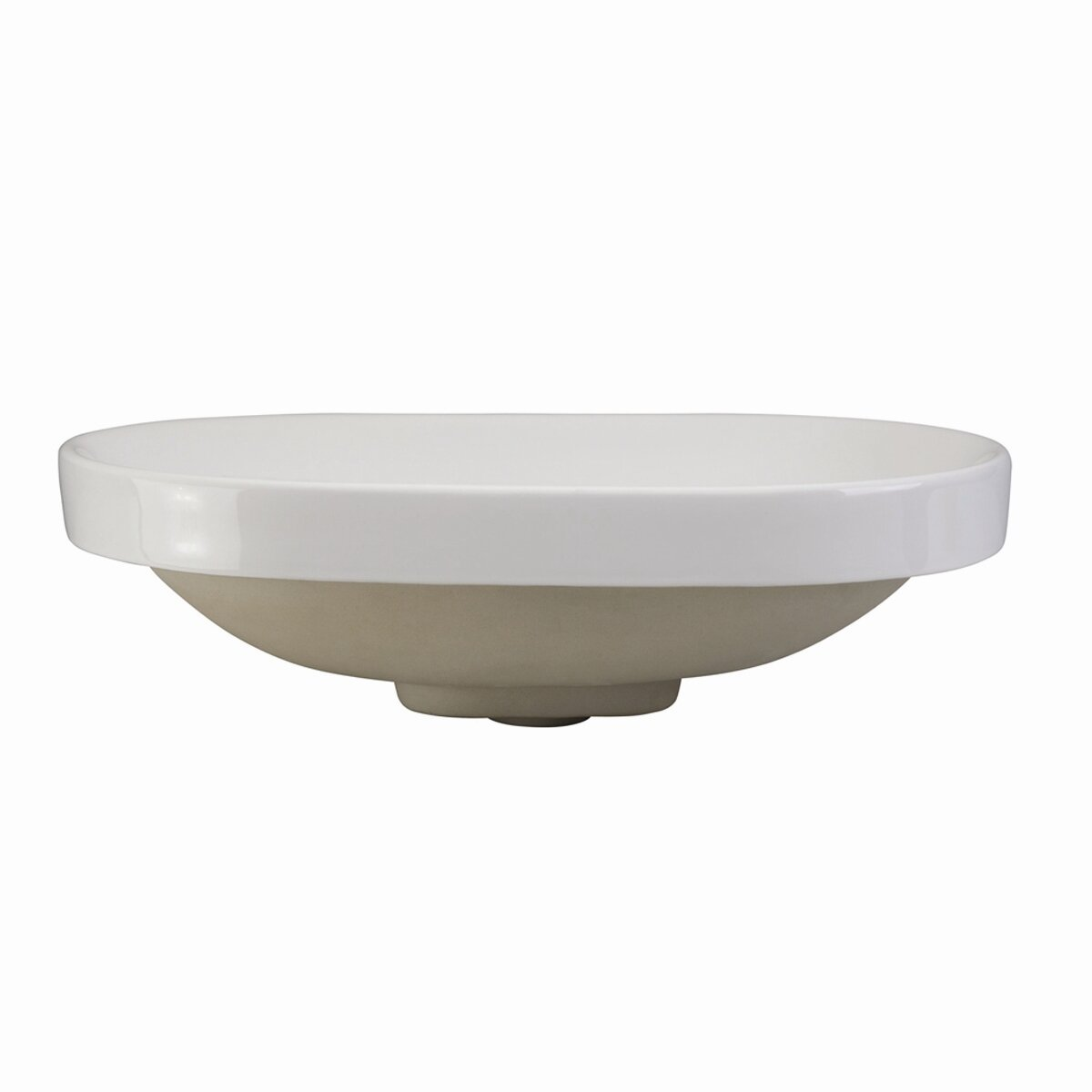 Decolav Classically Redefined Semi Recessed Oval Bathroom Sink Reviews Wayfair