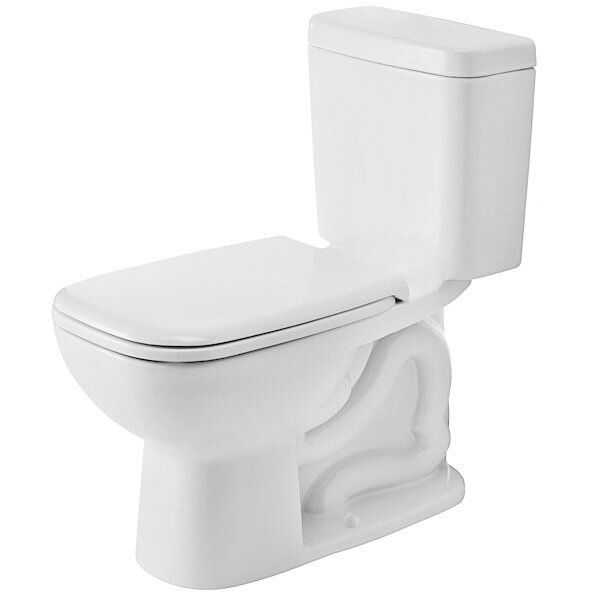 duravit d code elongated toilet bowl reviews wayfair. Black Bedroom Furniture Sets. Home Design Ideas