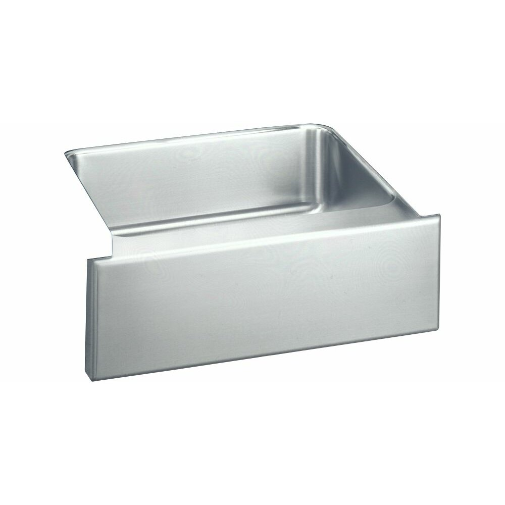 "Elkay Kitchen Sinks: Elkay Lustertone 25"" X 20.5"" Undermount Single Bowl"