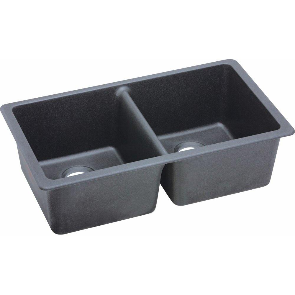Elkay Quartz Classic 33 X Undermount Kitchen Sink Reviews Wayfair