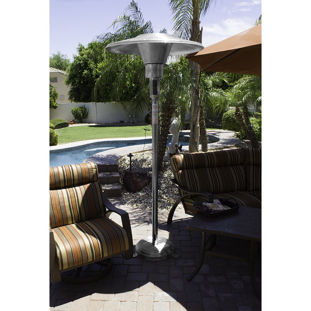 commercial natural gas patio heater by az patio heaters