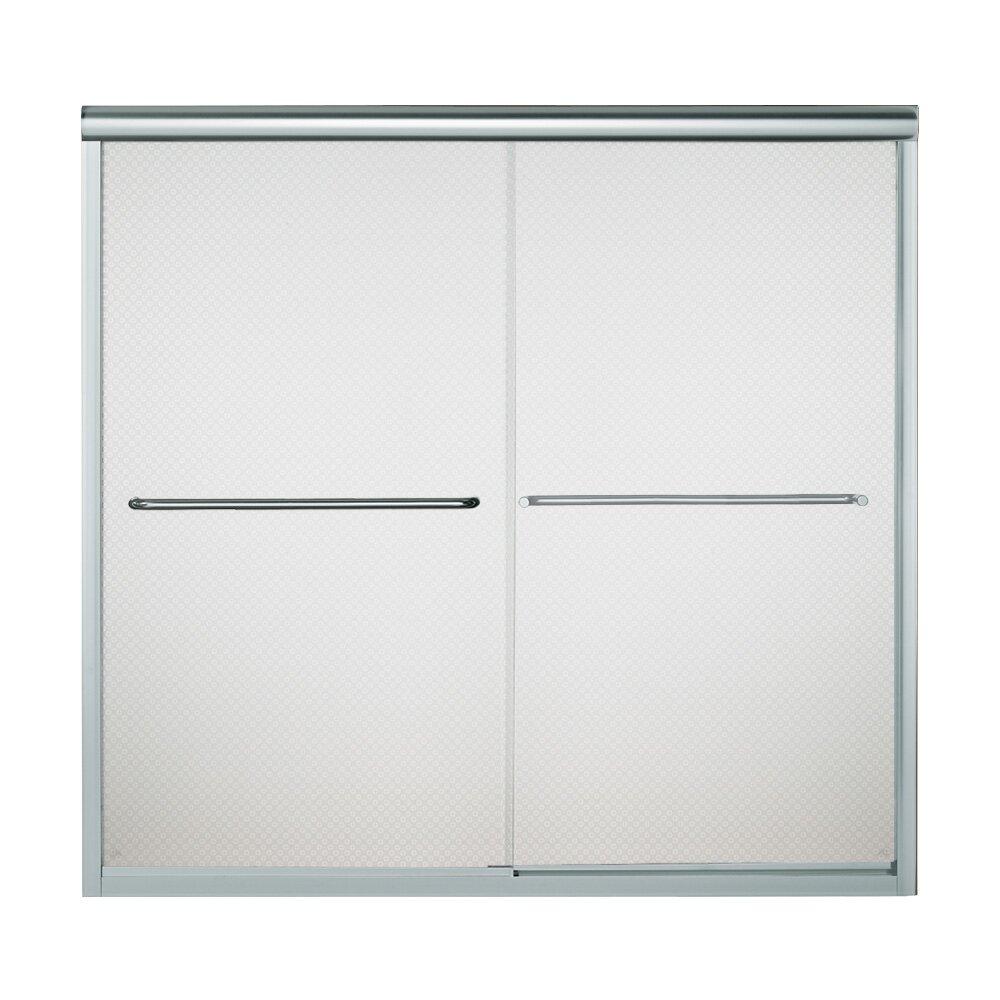 Kohler Sterling Sliding Shower Doors: Sterling By Kohler Finesse 59.625'' X 55.5'' Bypass