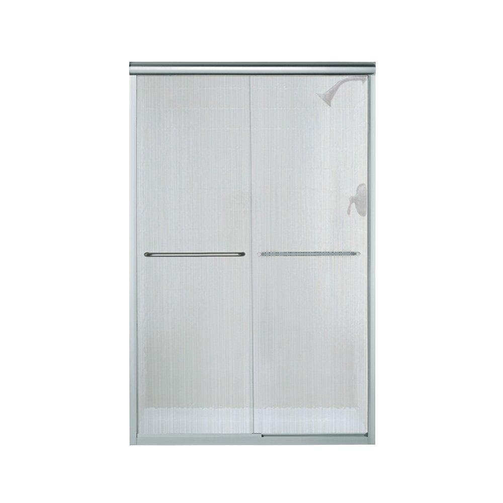 """Kohler Sterling Sliding Shower Doors: Sterling By Kohler Finesse 47.63"""" X 70.06"""" Bypass"""
