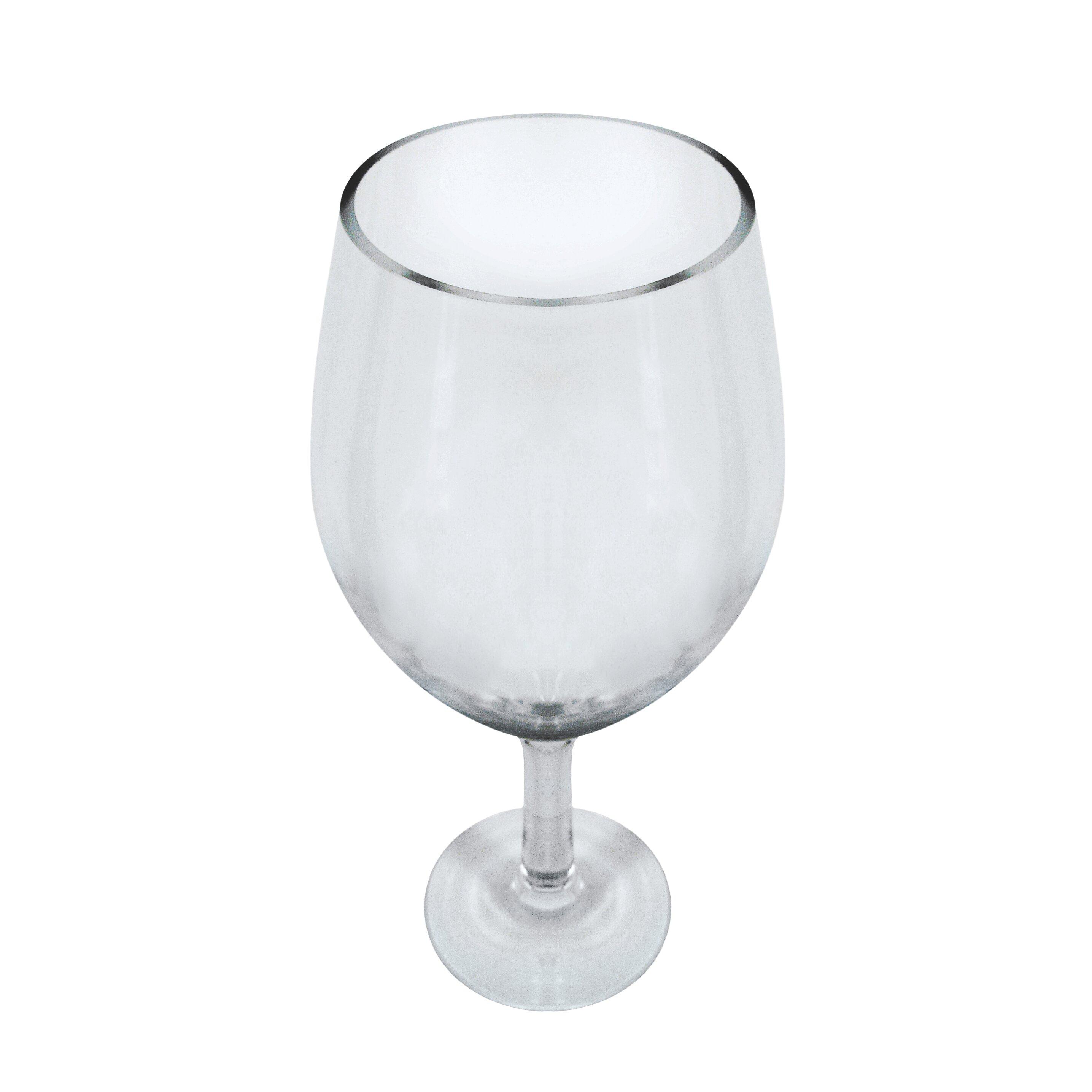 Epicureanist Large Decorative Wine Glass Wayfair