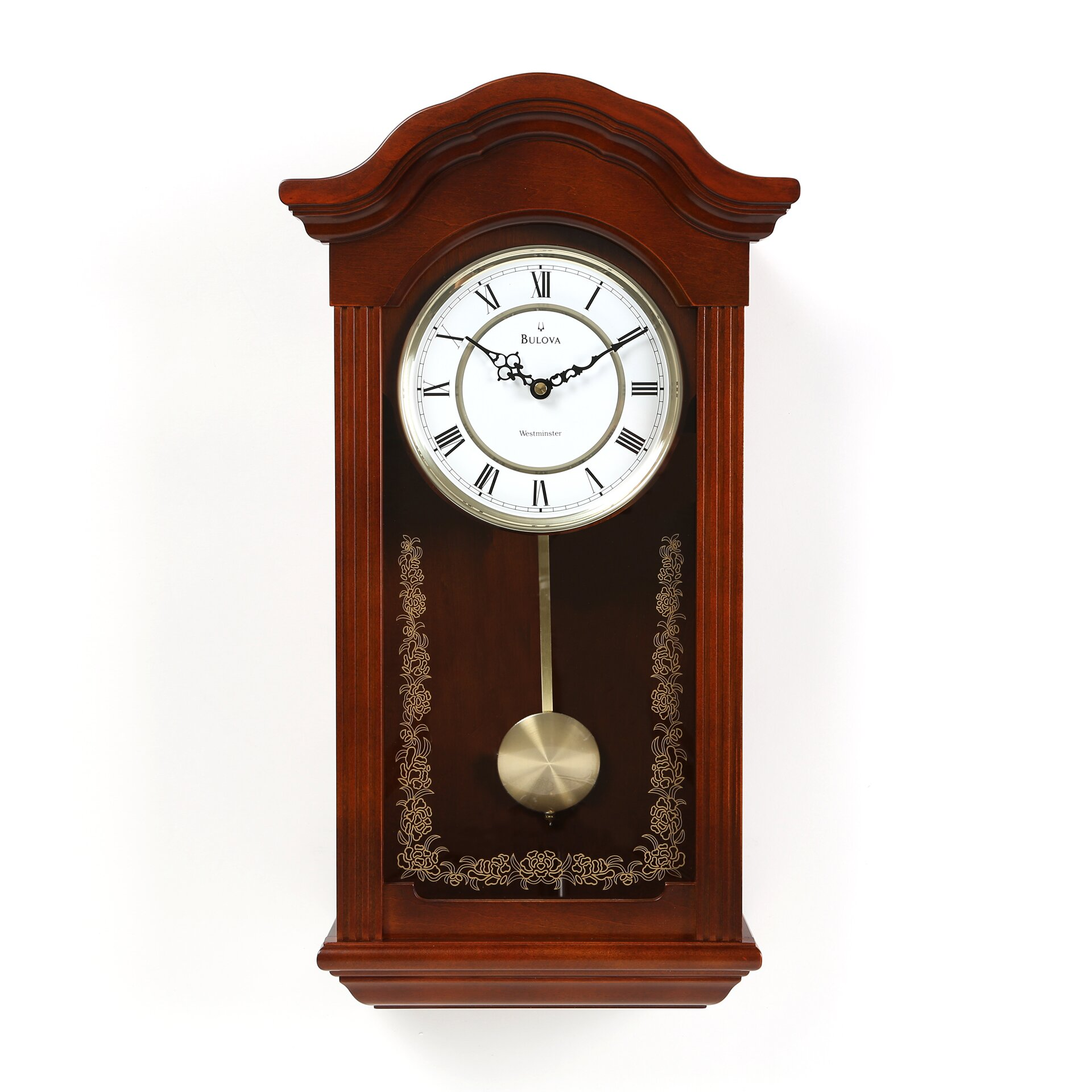 Darby Home Co Pendulum Wall Clock & Reviews