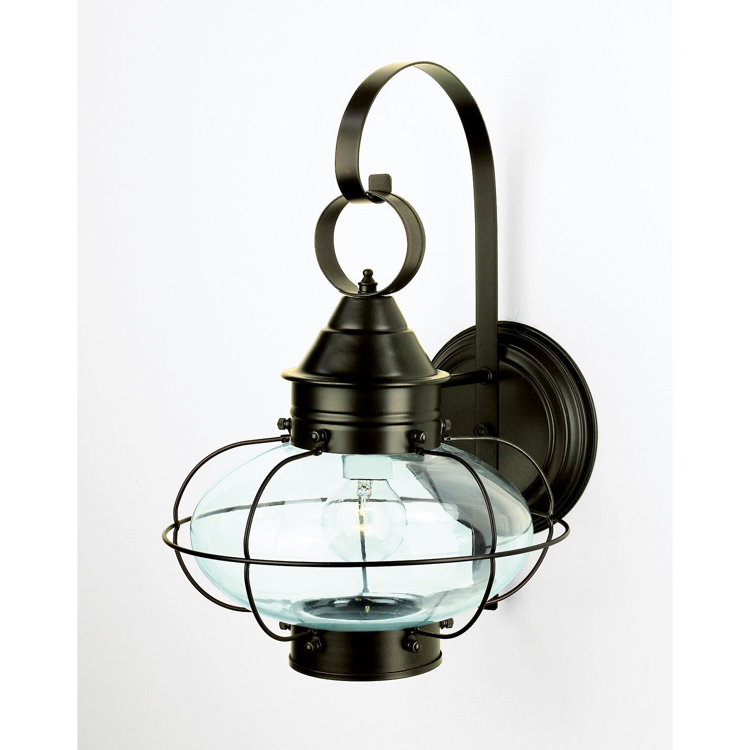Norwell Lighting Cottage Onion 1 Light Outdoor Wall Lantern & Reviews Wayfair