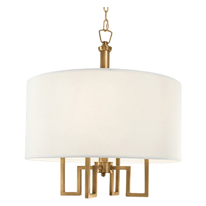 norwell lighting maya 4 light drum chandelier chandeliers pendants wayfair drum lighting