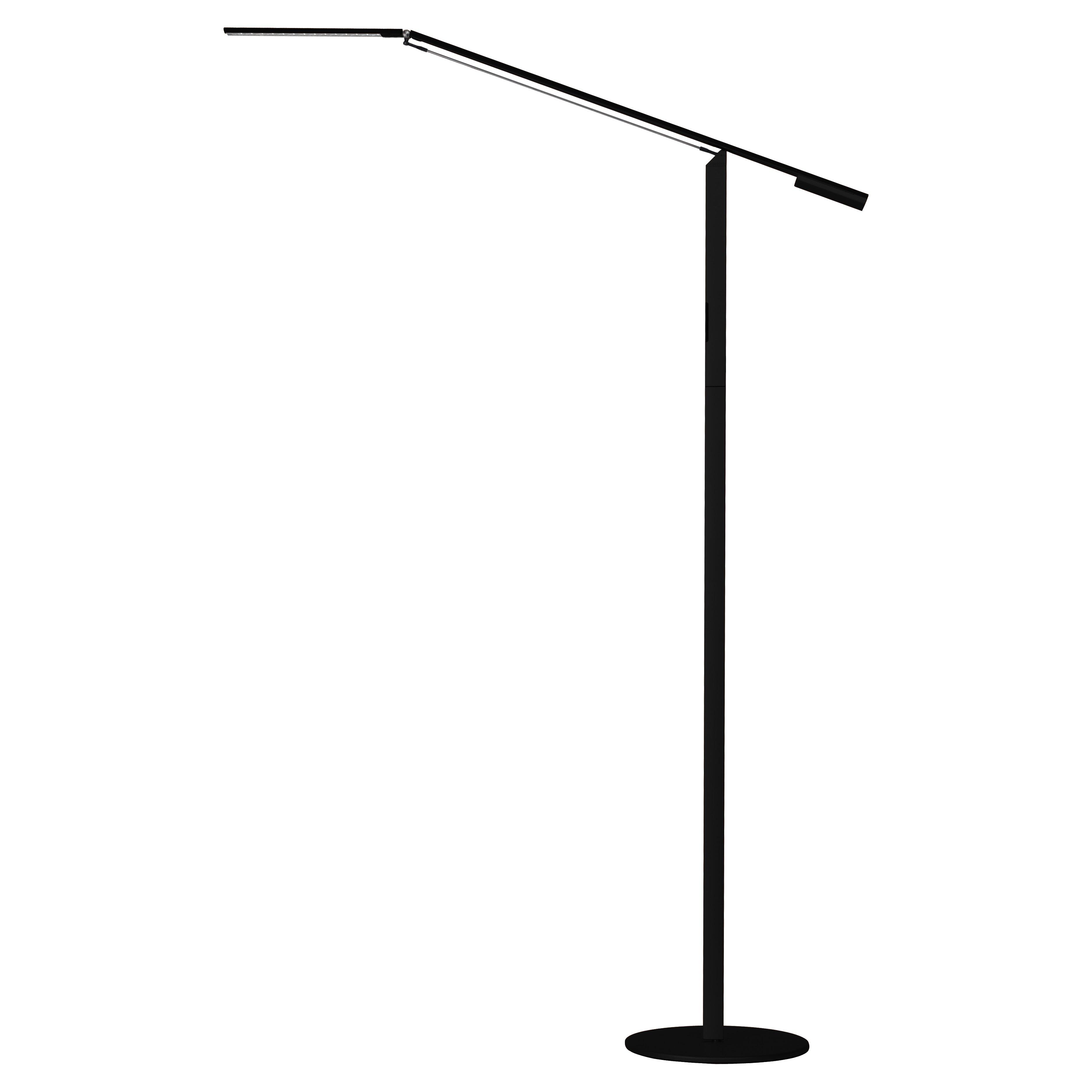 Koncept technologies inc equo led 4475quot task floor lamp for Pizzazz led floor lamp