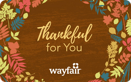 wayfair gift card gift cards wayfair 7279